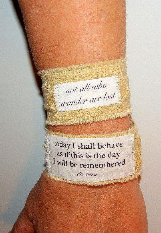 Comfortable Fabric Bracelet Medical Alert Bracelet Epilepsy