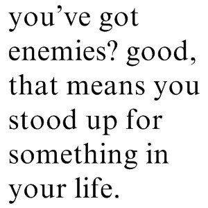 Got Enemies? <3 it!