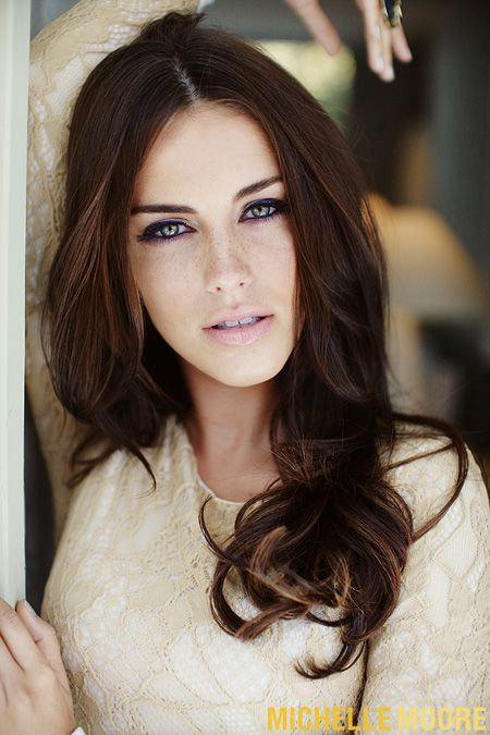 Jessica Lowndes for Zooey Magazine, Makeup by Amy Oresman, Photo by Michelle Moore @moorephoto