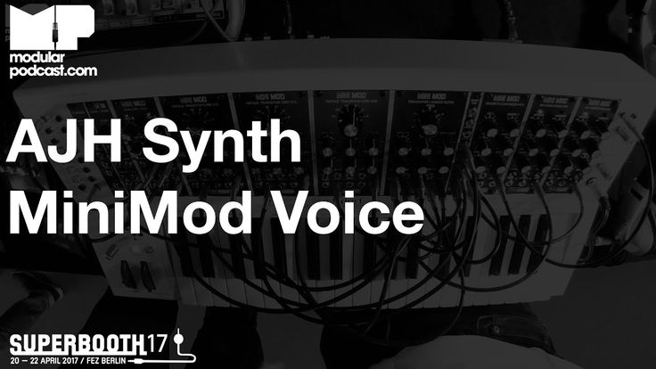 Here's the new modules from AJH Synth that expand the existing MiniMod range in the Waldorf KB37 case at Superbooth 2017. We get a run down of the new Dual L...