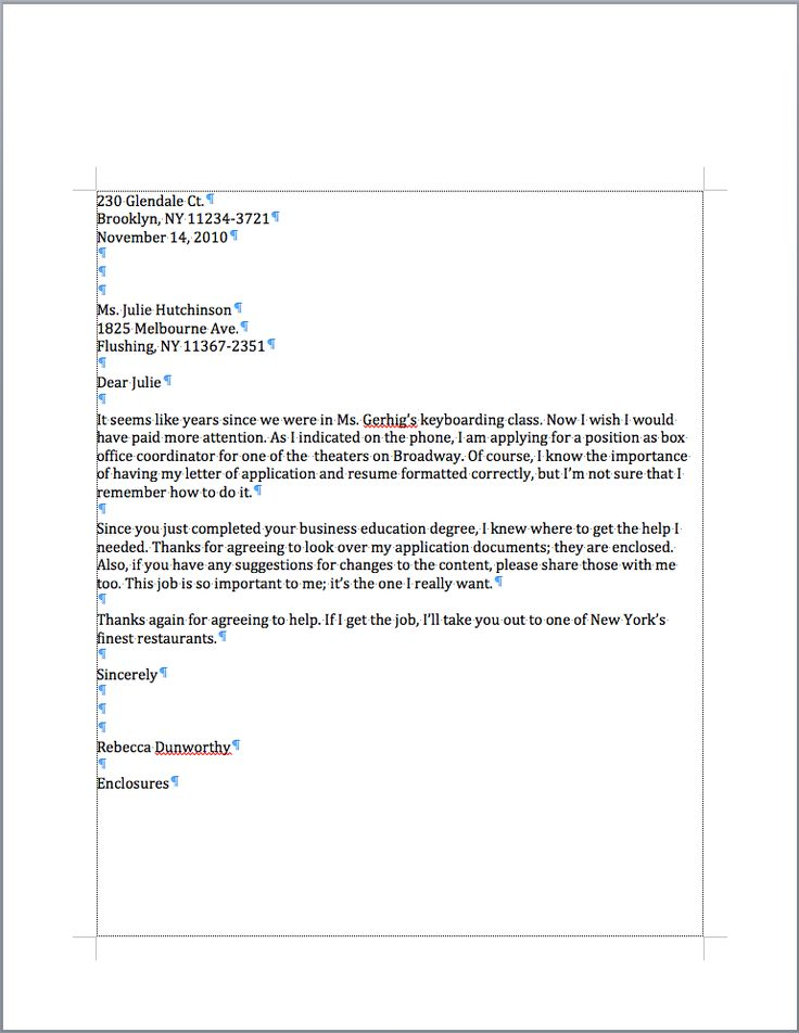 25+ melhores ideias de Business letter format example no Pinterest - formal letter of recommendation
