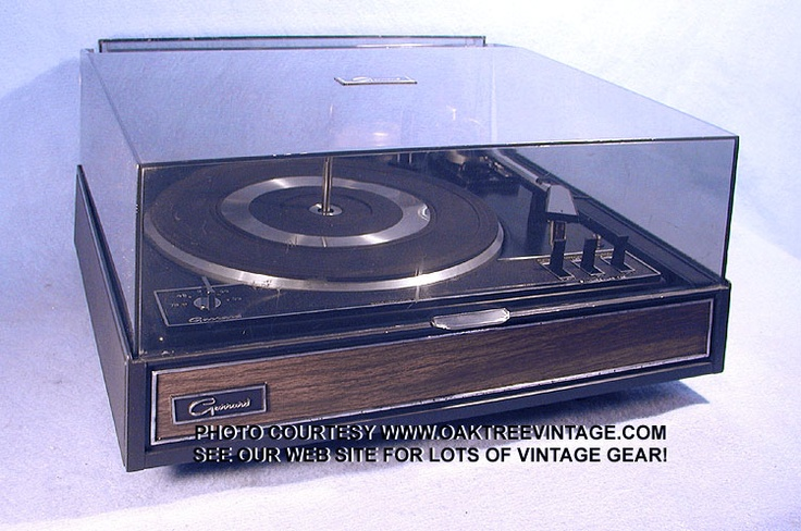 Garrard turntable
