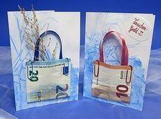 Geldgeschenk Karten - Bastelanleitung