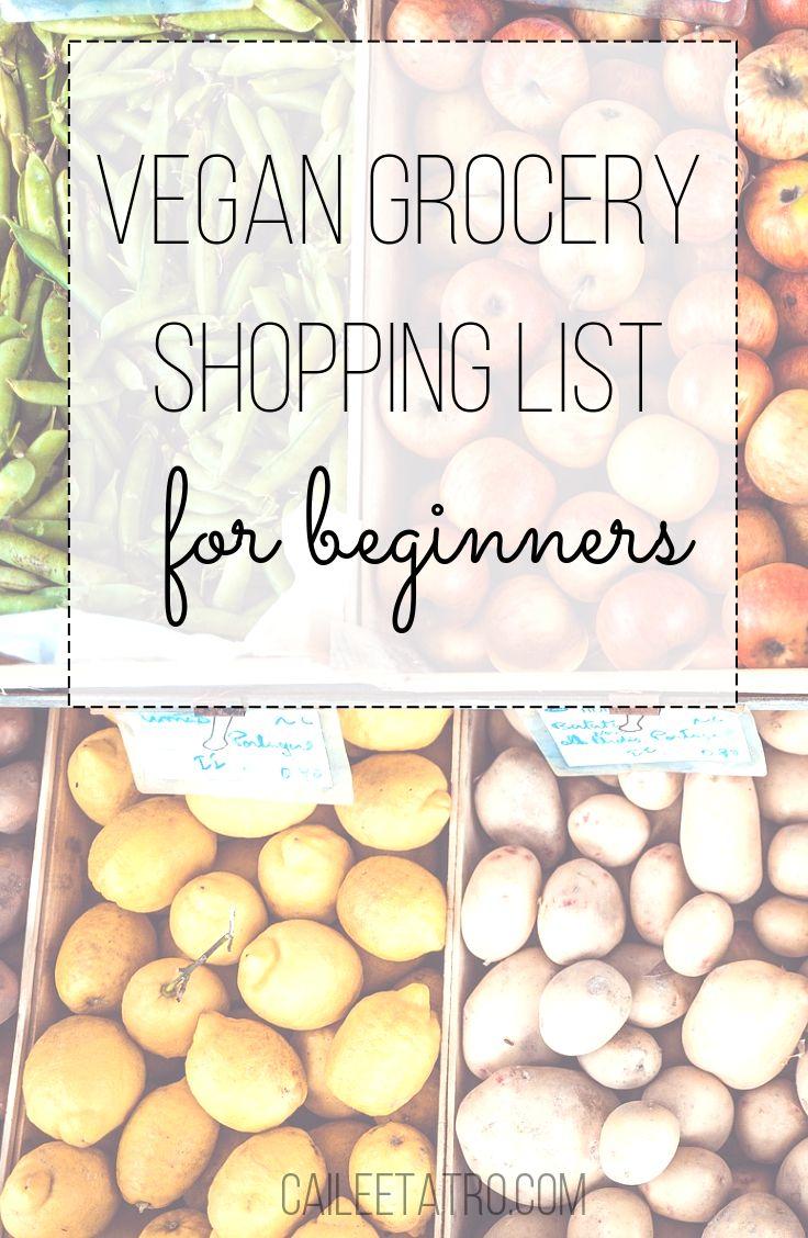 The ultimate vegan shopping list for beginners