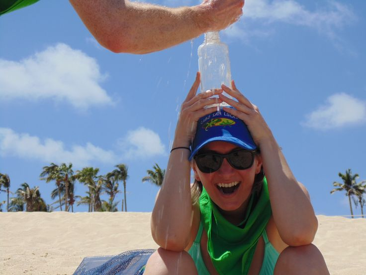 Cooling off!  A-MAZE-IN CABO RACE style!
