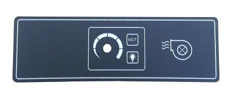 FE1016 panel for speed regulator