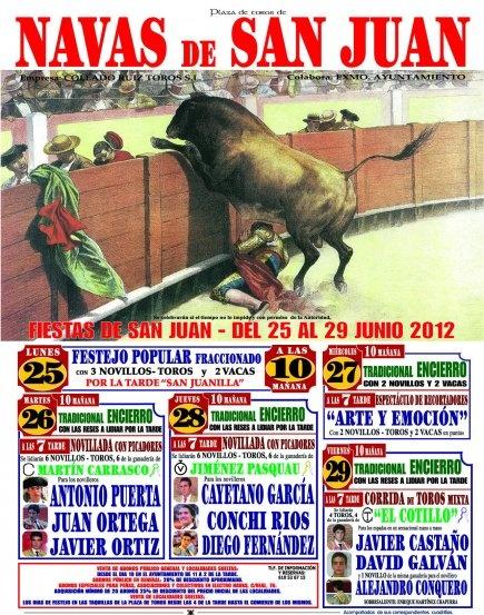 Navas de San Juan 2012