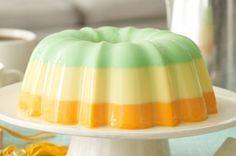 Creamy Triple-Citrus Gelatin Dessert Recipe - Kraft Recipes