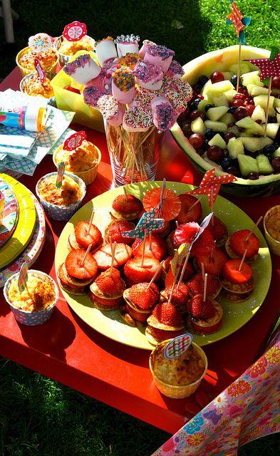 kids party food by Paul+Paula, via Flickr