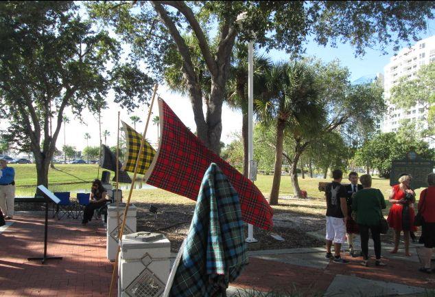 Scottish Memorial Dedication