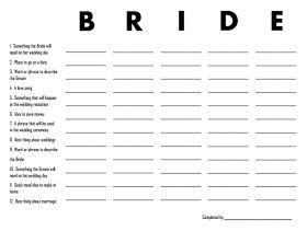 Craftivity Designs: Vintage Bridal Shower Games (& Free Printables)