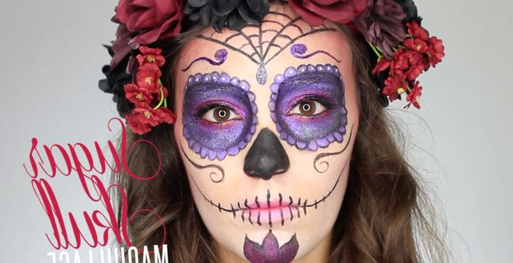 1000 id es sur le th me maquillage de squelette sur pinterest maquillage halloween maquillage - Maquillage mexicain facile ...