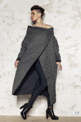 Płaszcz TWO SIDES - płaszcz, długi, dwustronny