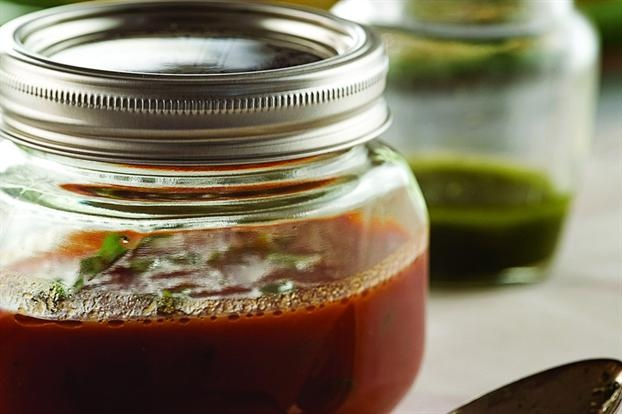 Salsa, Basil and Sauces on Pinterest