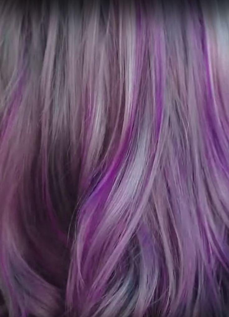 Purple Hair Dye In Shampoo For Bleached Blonde Dyed Hair Purple Shampoo For Purple Hair Dyed Hair