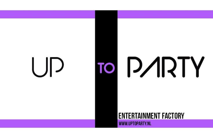 Up to party entertainment factory is gespecialiseerd in het organiseren van party's en events, bij u thuis of op locatie. Voor kleine gezelschappen vanaf 10 personen maar ook voor groepen van meer dan 200 personen tot grote events. Het is ons doel om uw wensen zo helder mogelijk te vertalen naar een party of event op maat. Dance events & DJ bookings:  www.skills4dreams.nl  Party: www.yourcelebration.nl Kids party:  www.prikkiefeestjes.nl  Info: www.uptoparty.nl