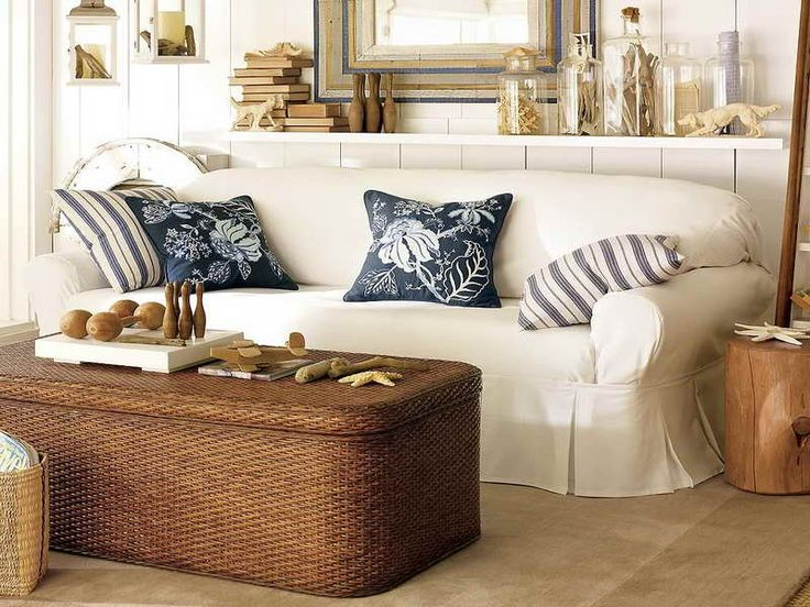 Beach Cottage Living Room Ideas