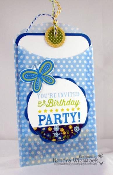 Magical Birthday Invite