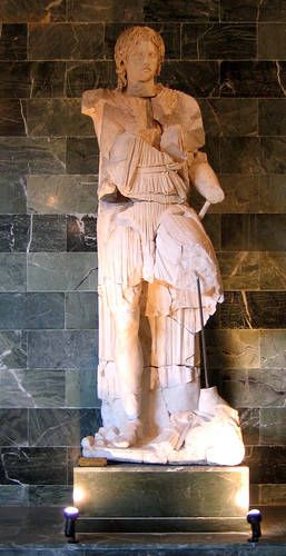 Statue of Alexander the Great at the Antalya Regional Archaeological Museum
