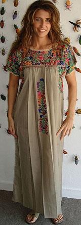 OAXACAN DRESS  (elinterior.com)