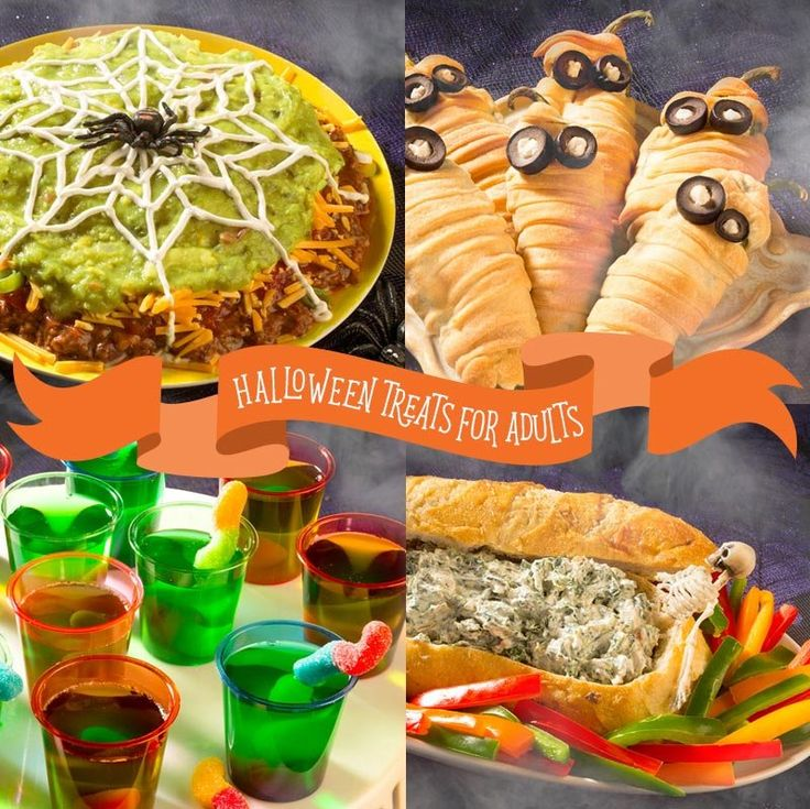 adult halloween party food ideas