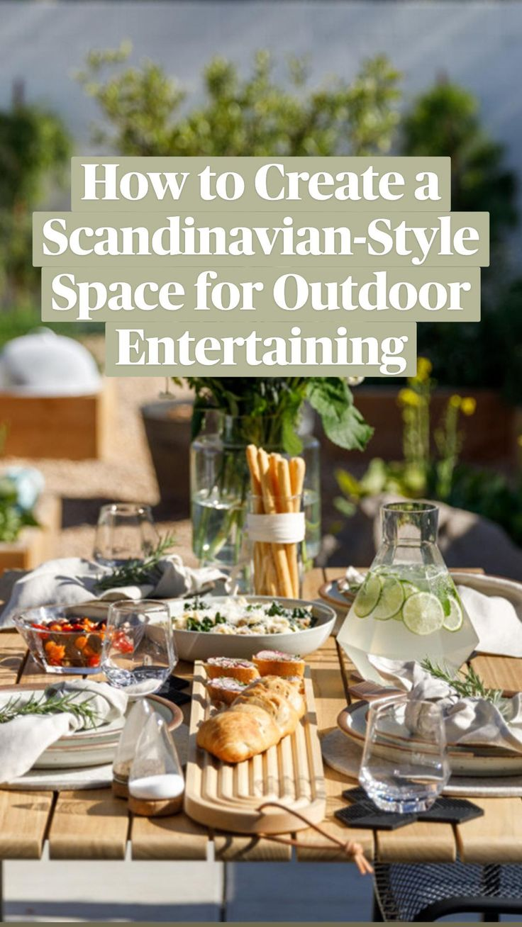 Scandi Style, Scandinavian Style, Interior Design And Psychology, Brunch Table Setting, Modern Villa Design, Home Food, Retro Home Decor, Outdoor Landscaping, Aesthetic Food