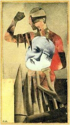 Hannah Hoch, The Strong Man, 1931