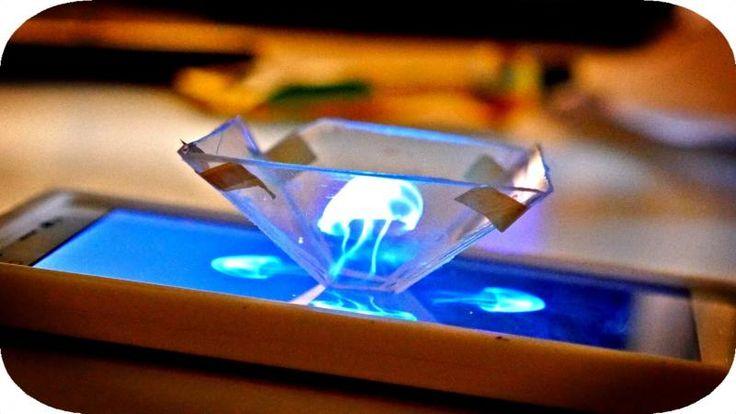 Už nikdy nebudete musieť utrácať obrovské sumy za holografický 3D projektor. Skutočný priestorový pohybujúci sa obraz dokáže vytvoriť aj váš smartphone. Stačí vám na to pár minút času a šikovné...