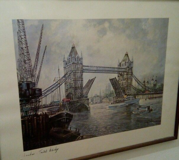 London: Tower Bridge (GRAVURE)