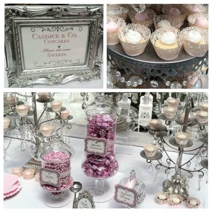 Tiffany PINK Candy u0026 Dessert Table byThe