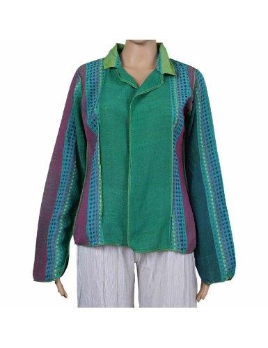 Veste colorée pour femmes - Vêtement ethnique de l'Inde - Tenue de soirée ou diners: Amazon.fr: Vêtements et accessoires