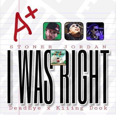 Enjoy the Electrical Flow of 'I Was Right' by Rapper #StonerJordan #Rap