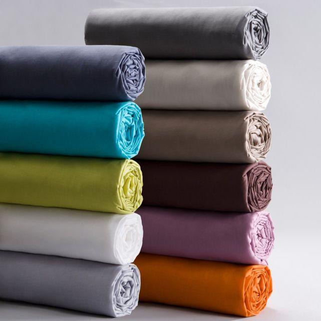 Drap-housse coton/polyester pour matelas standard