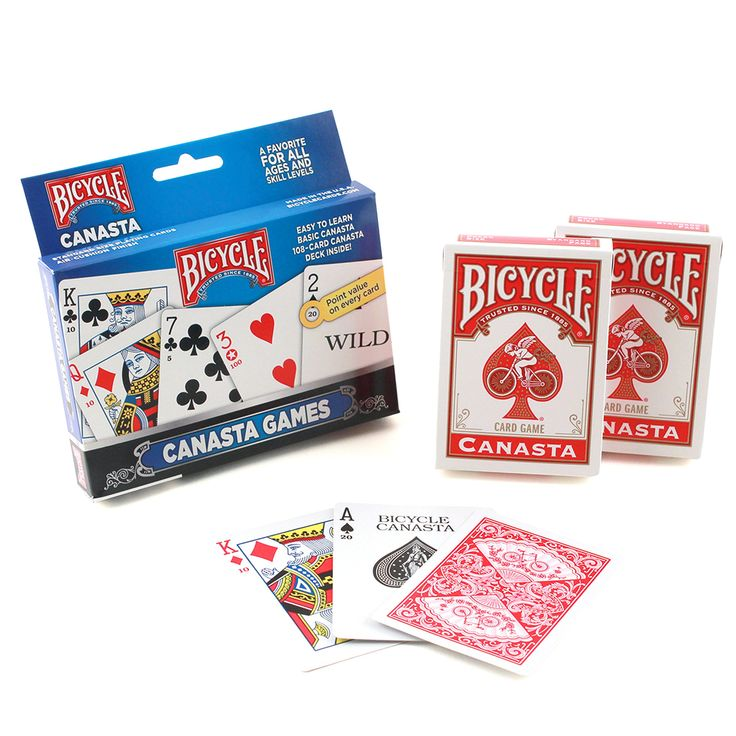 Bicycle 1023140  Canasta Games Playing Cards