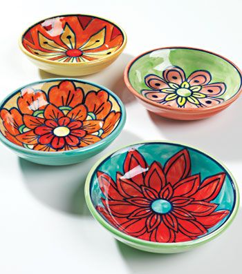 hand painted bowls - Google Search