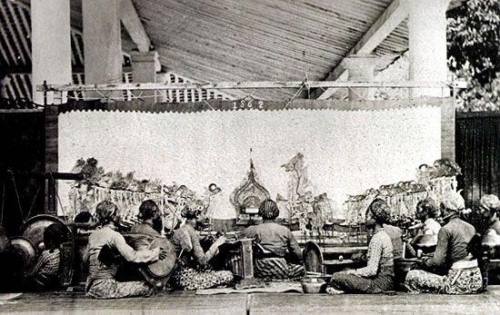 Wayang Kulit Performance