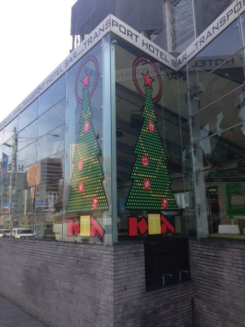 We were in the city today! #CBD #FederationSquare #TransportBar #XMAS