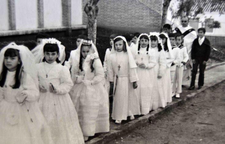 vestidos comunion año 1963 - Buscar con Google