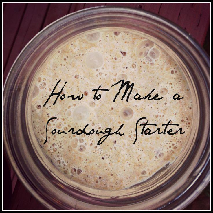 Whole Foods Sourdough Bread Starter