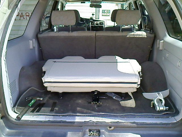 So I Need A 3rd Row Seat Pretty Soon In The 4runner I Figured That