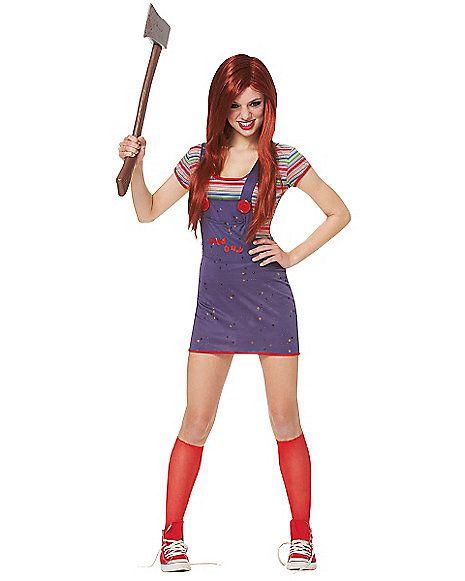 Sexy Chucky Adult Womens Costume - Spirithalloween.com