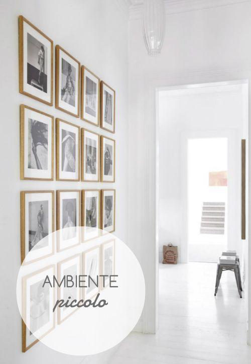 Consiglio per ambienti piccoli o di passaggio (es: corridoi): utilizzate #colori chiari e caldi, o meglio ancora il bianco su #pareti e #soffitto.
