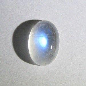 Biduri Bulan Cahaya Biru 4.34 carat