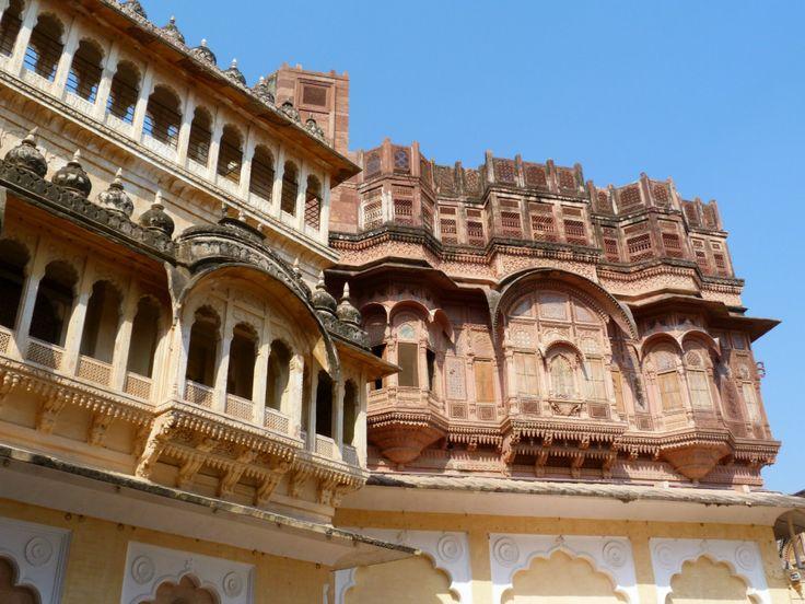 Jodhpur the blue city of INdia. Merangarh Fort / Jodhpur la ciudad azul de la India. Fuerte de Merangarh