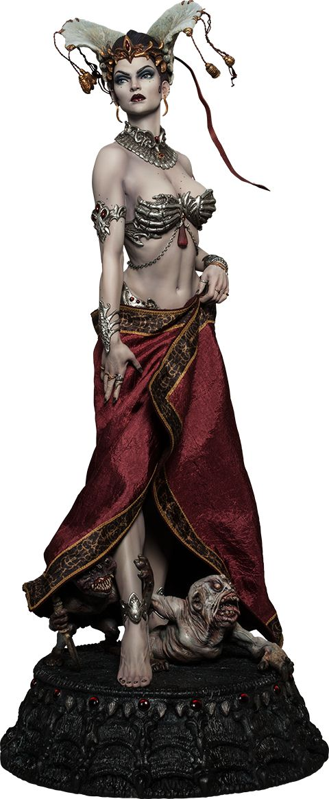Queen of the Dead - sculpted by Mark Newman. Absolutely gorgeous statue!!!