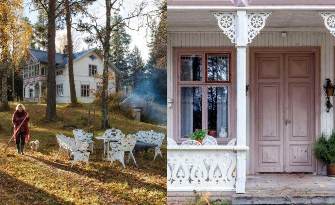 """LANTSTÄLLET PÅ ÖN """"Det gamla huset på Svartön utanför Strömsund stod öde när Ulla-Britt köpte det för snart tjugo år sedan"""""""