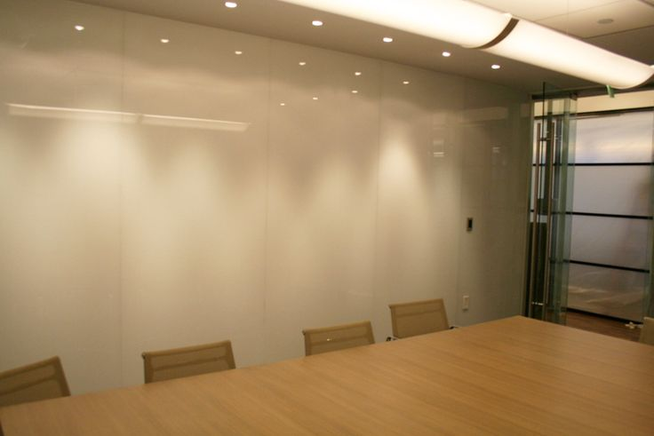 Floor To Ceiling Frosted Glass Dry Erase Board Looks Nice