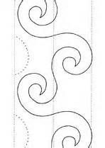 Free Hand Quilting Stencil Designs : De 25+ bedste ideer inden for Machine quilting patterns pa Pinterest Quiltning ...