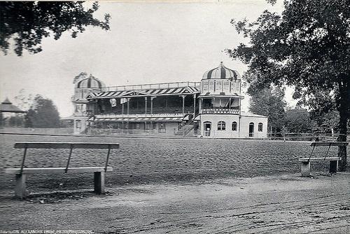 Pavilion, Alexandra Park. Taken circa 1905. Pietermaritzburg, Natal