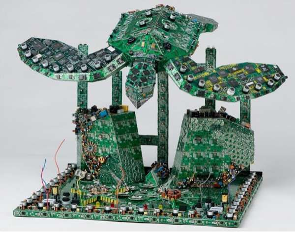 131 best Crafts {upcycled circuit boards} images on Pinterest ...